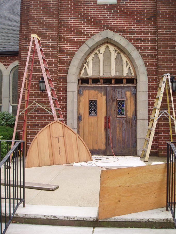 Habitat renewal for Church mural restoration